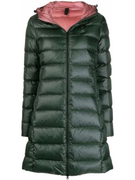 Пальто с капюшоном айвори Blauer