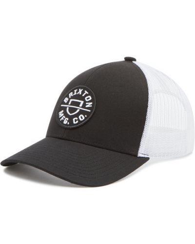 Czarna czapka z daszkiem Brixton