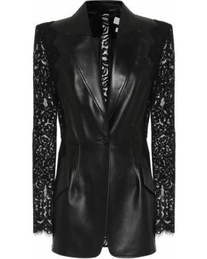 Черный пиджак Alexander Mcqueen