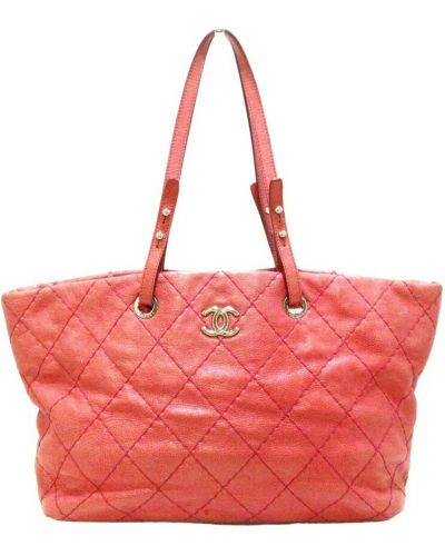 Różowa torebka Chanel Vintage