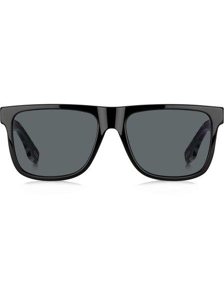 Черные солнцезащитные очки квадратные с завязками Marc Jacobs Eyewear