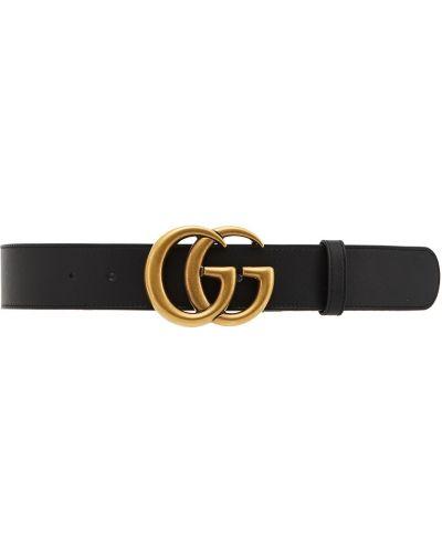 Ремень металлический черный Gucci