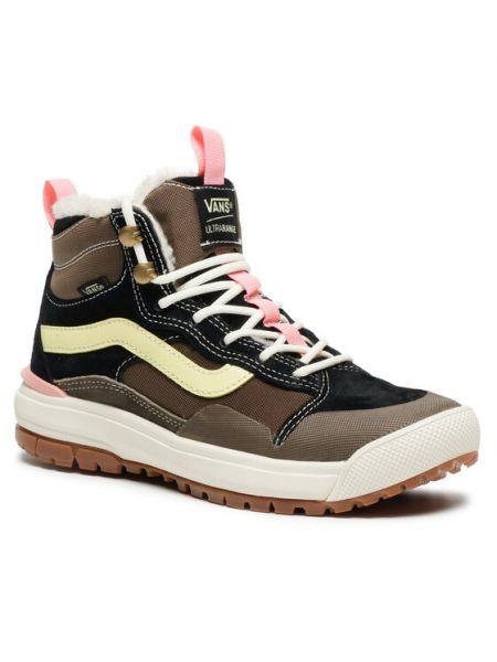 Brązowy sneakersy Vans