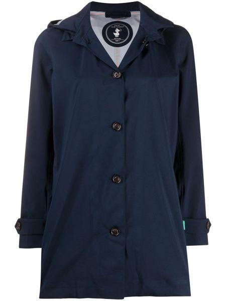 Пальто классическое с воротником на пуговицах айвори Save The Duck