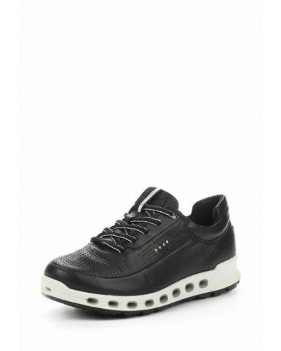 Черные кроссовки Ecco