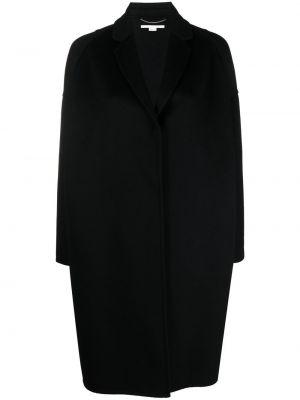 Шерстяное пальто - черное Stella Mccartney
