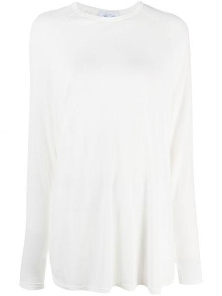 Белая футболка с рукавом реглан из вискозы с круглым вырезом Redemption