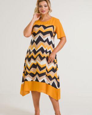 Шифоновое платье миди марита