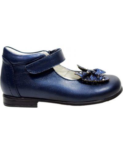 Туфли синие Cherie