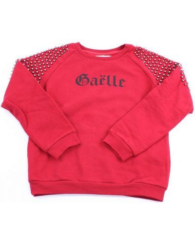 Czerwona bluza dresowa Gaëlle Paris