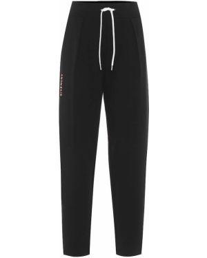 Спортивные брюки из неопрена плиссированные Givenchy