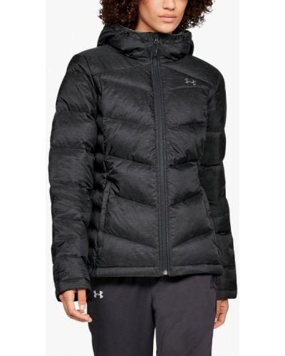 Зимняя куртка черная осенняя Under Armour