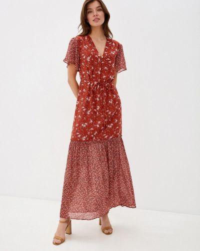 Прямое красное платье Gant