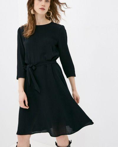 Прямое черное платье А-силуэта 2nd Day