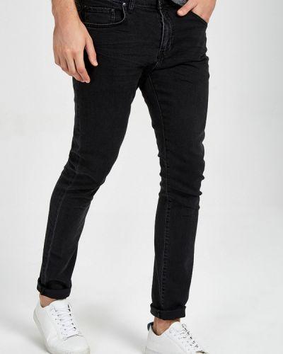 Зауженные джинсы - черные Ltb