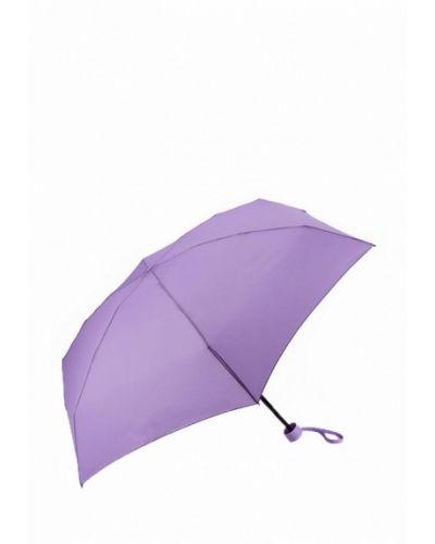Фиолетовый зонт складной Fulton