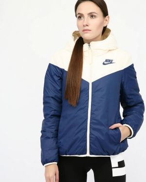 Куртка осенняя синий Nike