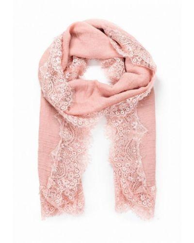 Розовый палантин Piazza Italia