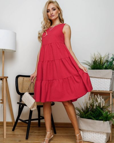 Повседневное платье миди Leleya