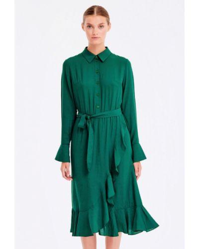 Платье платье-рубашка осеннее Musthave