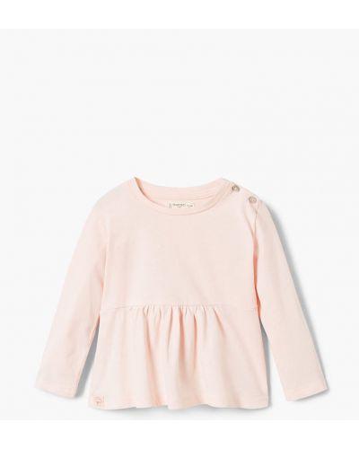 Розовая блуза короткая Mango Kids