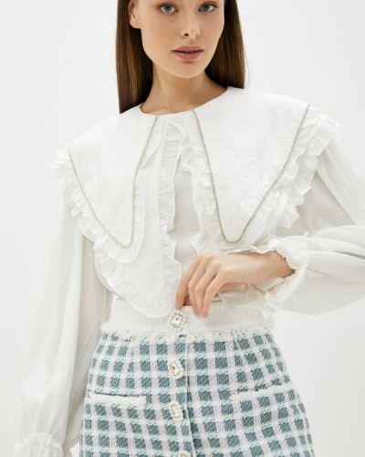 Блузка с рюшами - белая Sister Jane