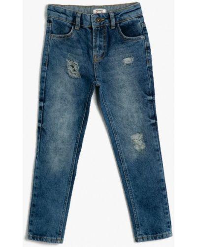 Синие джинсы Koton
