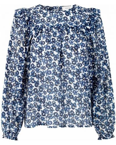 Niebieska bluzka Munthe