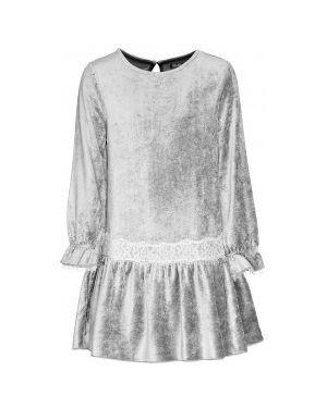 Платье серое со складками Gulliver Wear