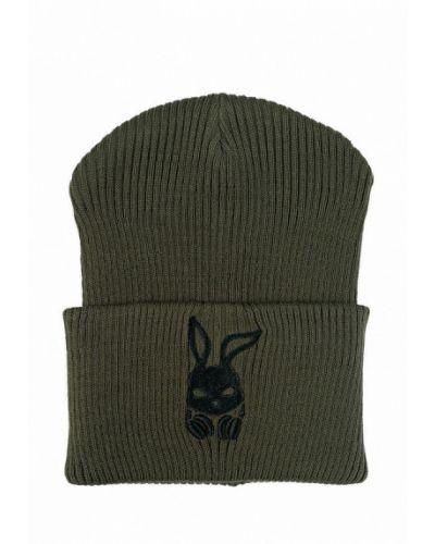 Зеленая шапка Intruder