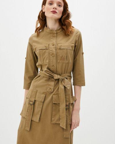 Платье - зеленое Aeronautica Militare