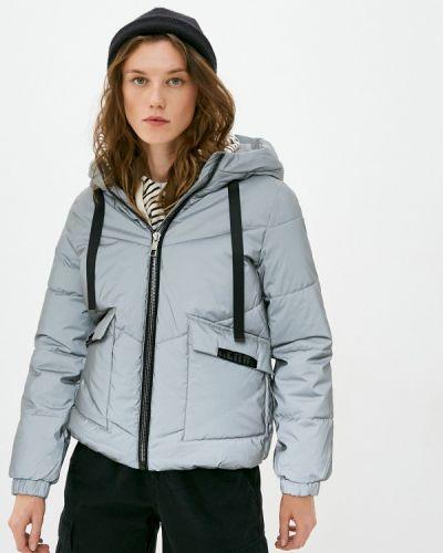 Серебряная утепленная куртка Z-design