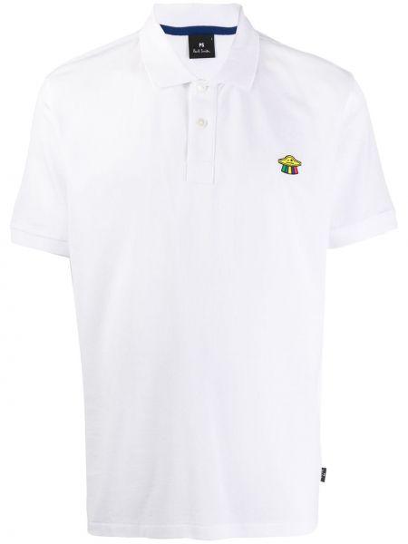 Koszula krótkie z krótkim rękawem klasyczna prosto Ps Paul Smith