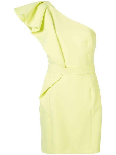 Коктейльное платье на одно плечо через плечо Safiyaa