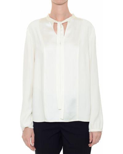 Блузка из вискозы белая Red Valentino