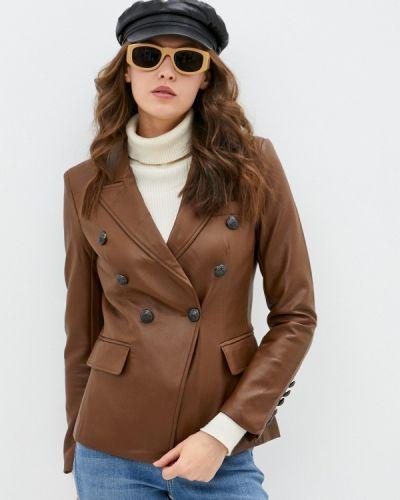 Коричневый пиджак Softy