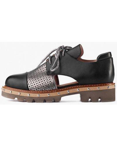 Кожаные ботинки - черные Stefano Lompas