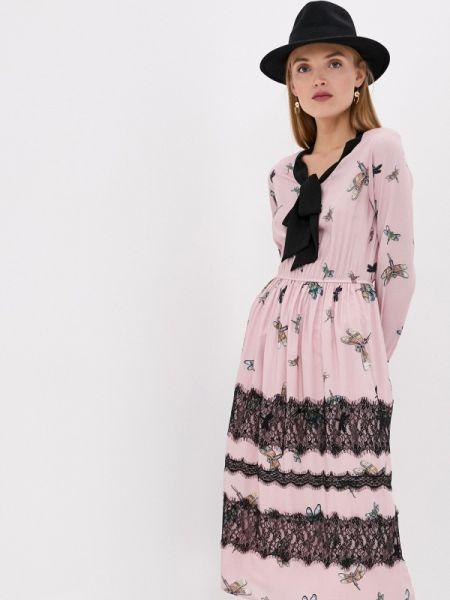 Платье прямое розовое Blugirl Folies