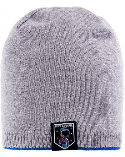 Зимняя шапка серая Giamo