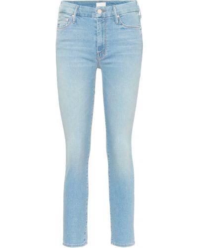 Укороченные джинсы скинни классические Mother