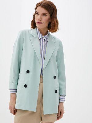 Бирюзовый пиджак Defacto