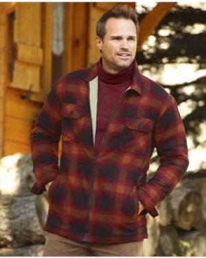 Рубашка фланелевая теплая Atlas For Men