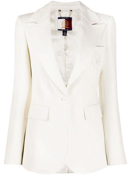 Пиджак с карманами на пуговицах с лацканами Tommy Hilfiger