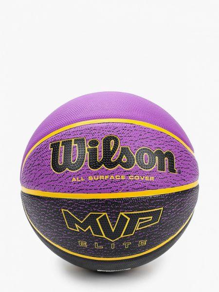 Баскетбольный фиолетовый спортивный костюм Wilson