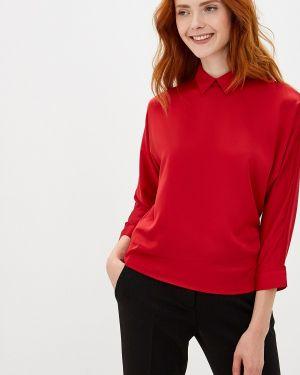 Блузка с длинным рукавом красная Woman Ego