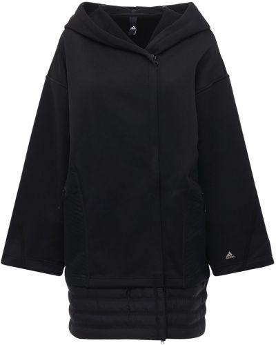Пальто с капюшоном на молнии с капюшоном Adidas Performance