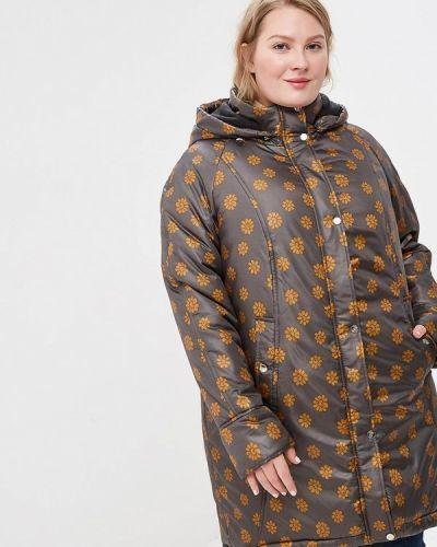 Утепленная куртка - желтая Jp
