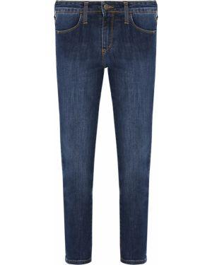 Укороченные джинсы с пайетками с воротником на пуговицах с поясом Gender Denim