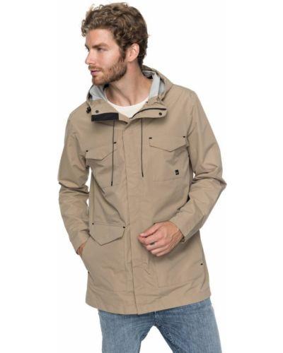 Бежевая куртка Quiksilver