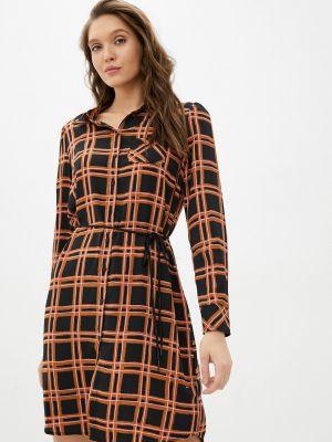 Платье рубашка - черное Mexx